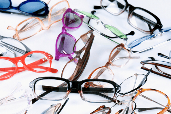 Collecting Used Eyeglasses