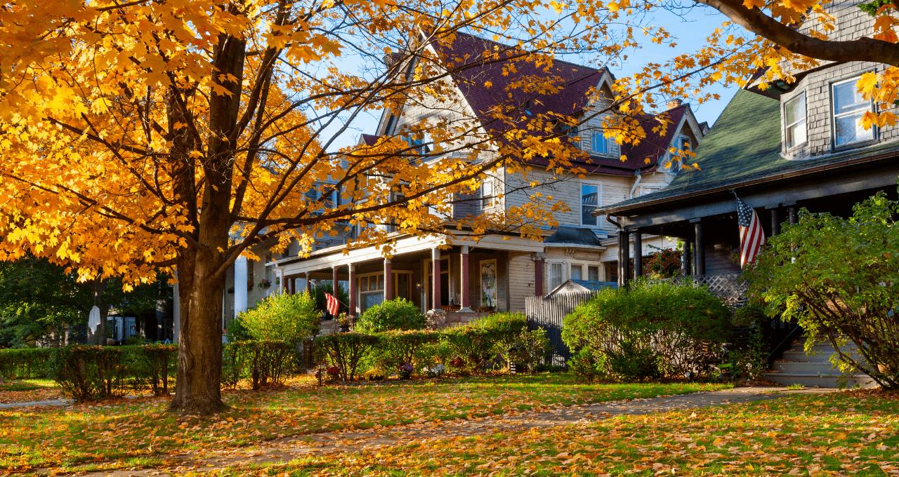 Neighborhood Fall Colors