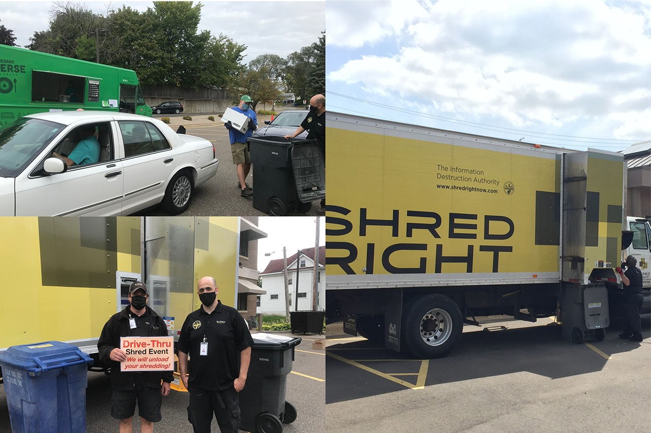 Shred Event Dates for 2021